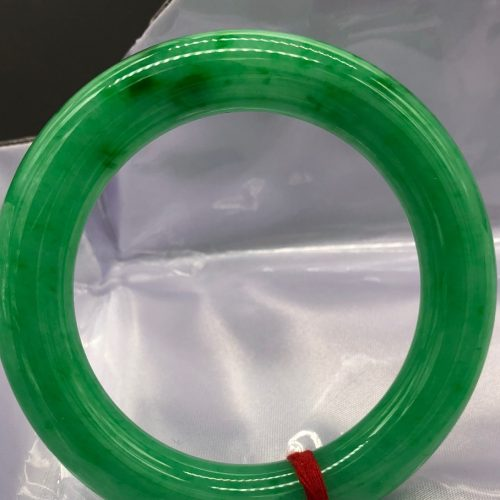 Vivid Full Apple-Green Bangle
