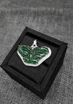 Butterfly jade pendant Singapore