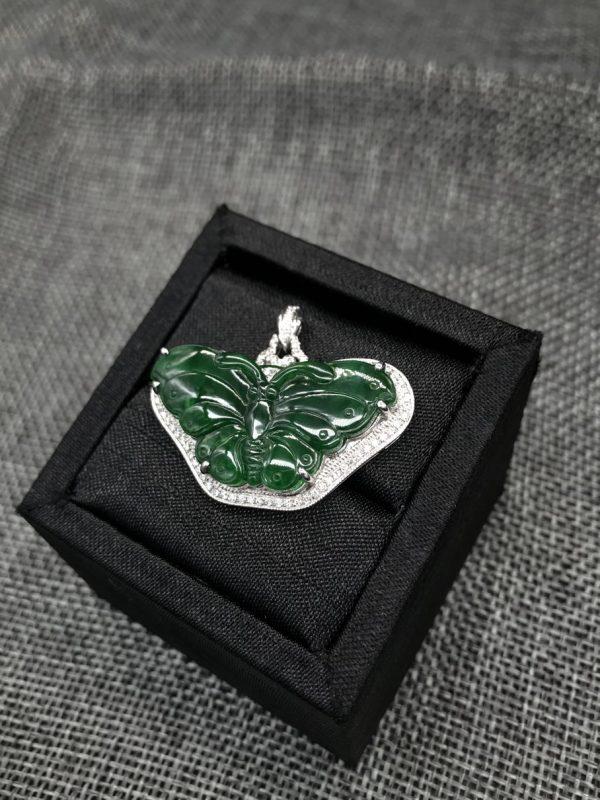 Butterfly jade pendant Singapore